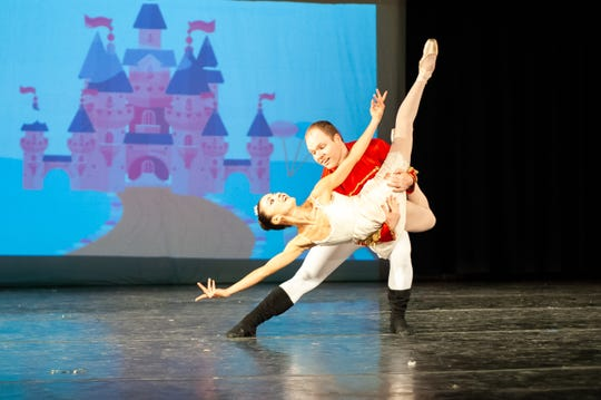 "Montgomery Ballet's ""The Nutcracker"" will be Friday, Saturday and Sunday at Troy University's Davis Theatre in Montgomery."