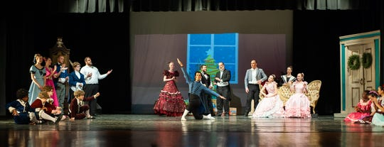 """The Montgomery Ballet has also presented """"The Nutcracker"""" at Greenville High School recently."""