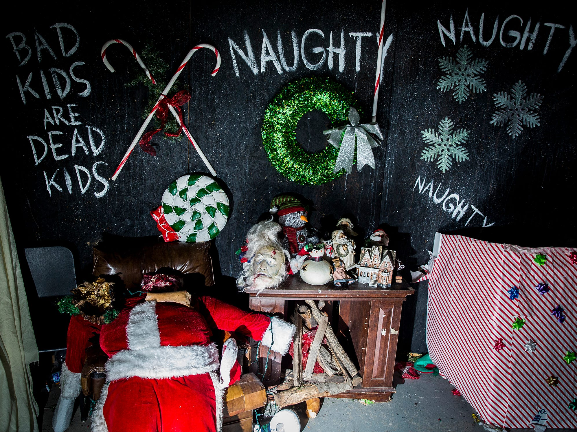 Cornerstone's Christmas Scarol haunted house, which opens Dec. 15,  will be collecting donations for the Muncie Animal Care and Services facility.