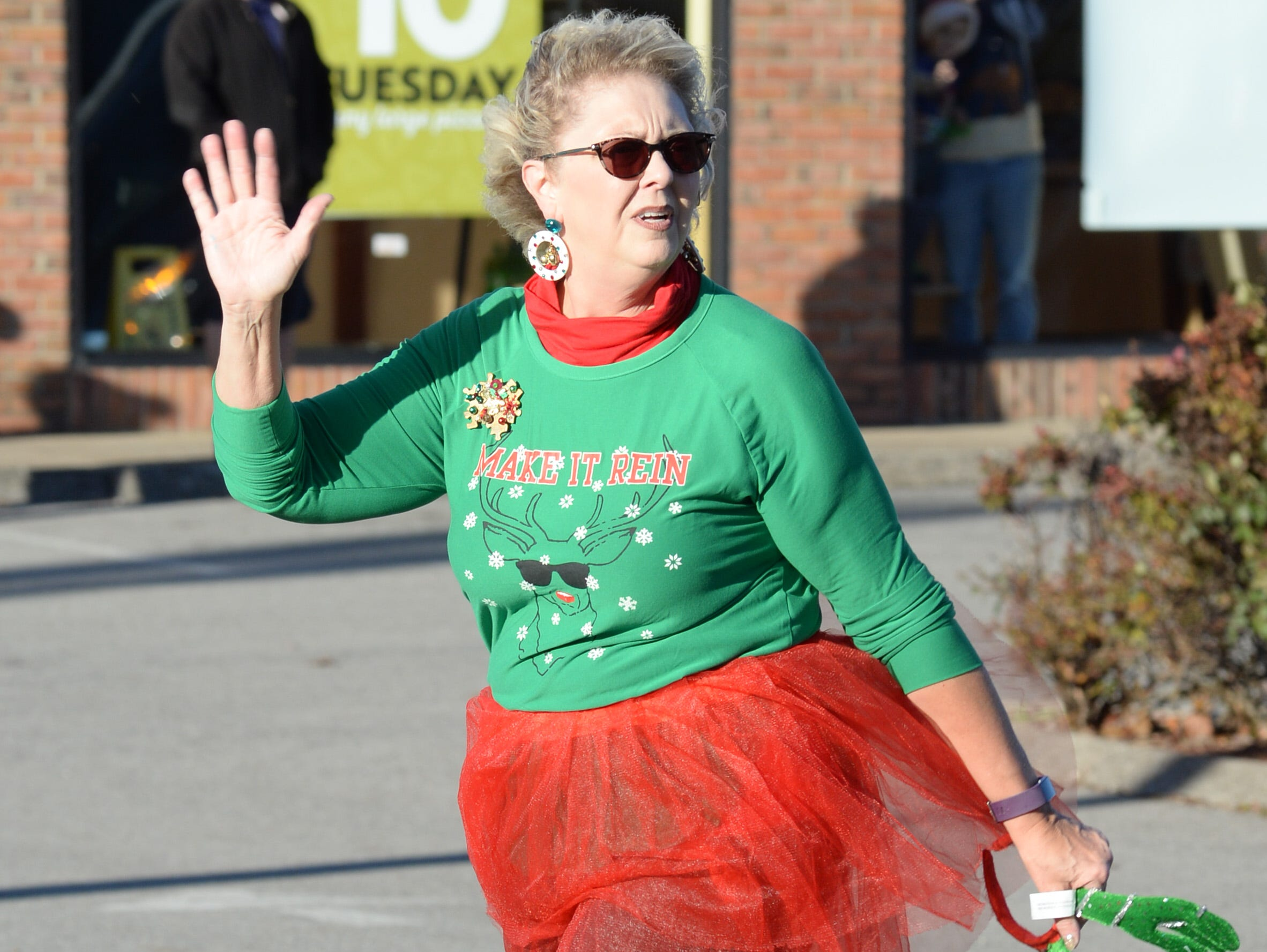 Floats and fun entertain the crowd during the Hendersonville Christmas Parade on Sunday, Dec. 2.