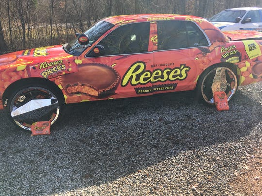 Lavoy Sales, 48, is a self-proclaimed Reese's super fan. He owns a decorated car that caught the candymaker's attention this week.