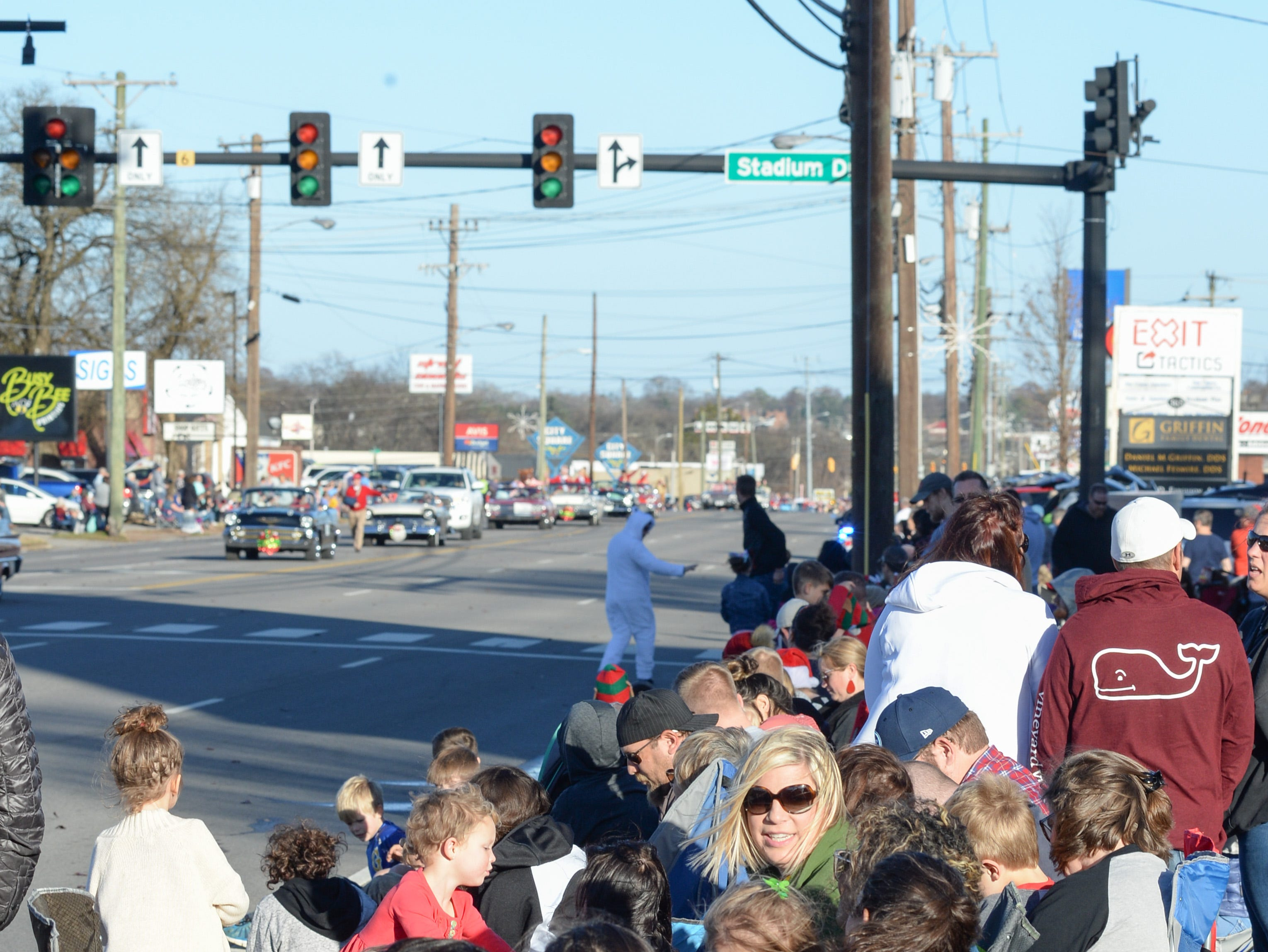 The Hendersonville Christmas Parade drew a large crowd on Sunday, Dec. 2.