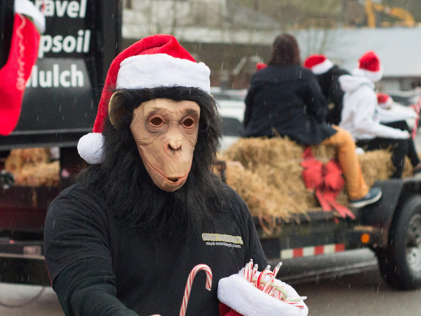 Floats, music and fun entertain the crowd during the Goodlettsville Christmas Parade on Saturday, Dec. 1.