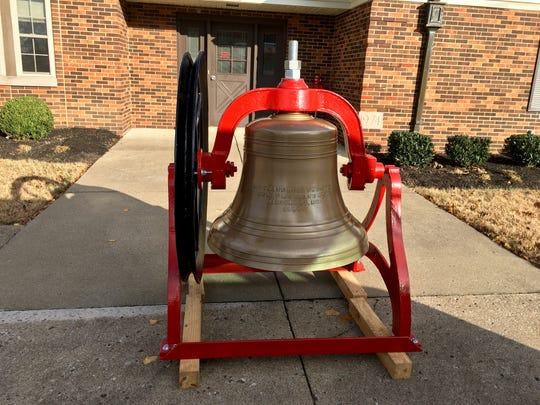 The historic Gallatin Fire Hall bell has been restored to its former beauty and will soon be part of a memorial.