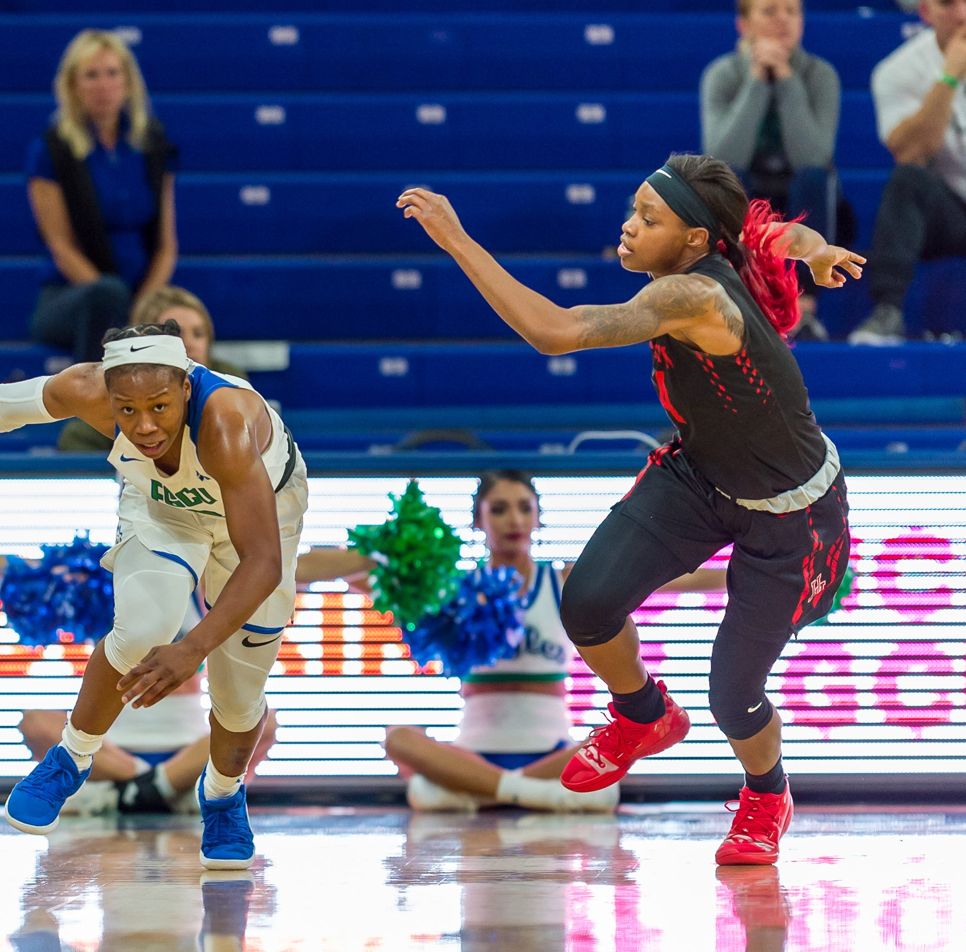 College basketball: Perfect timing brought Dunbar's Keri Jewett-Giles home to FGCU