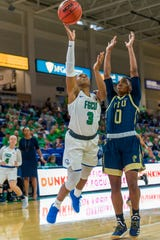 Despite standing only 5-6, FGCU junior point guard Keri Jewett-Giles can really attack the rack.