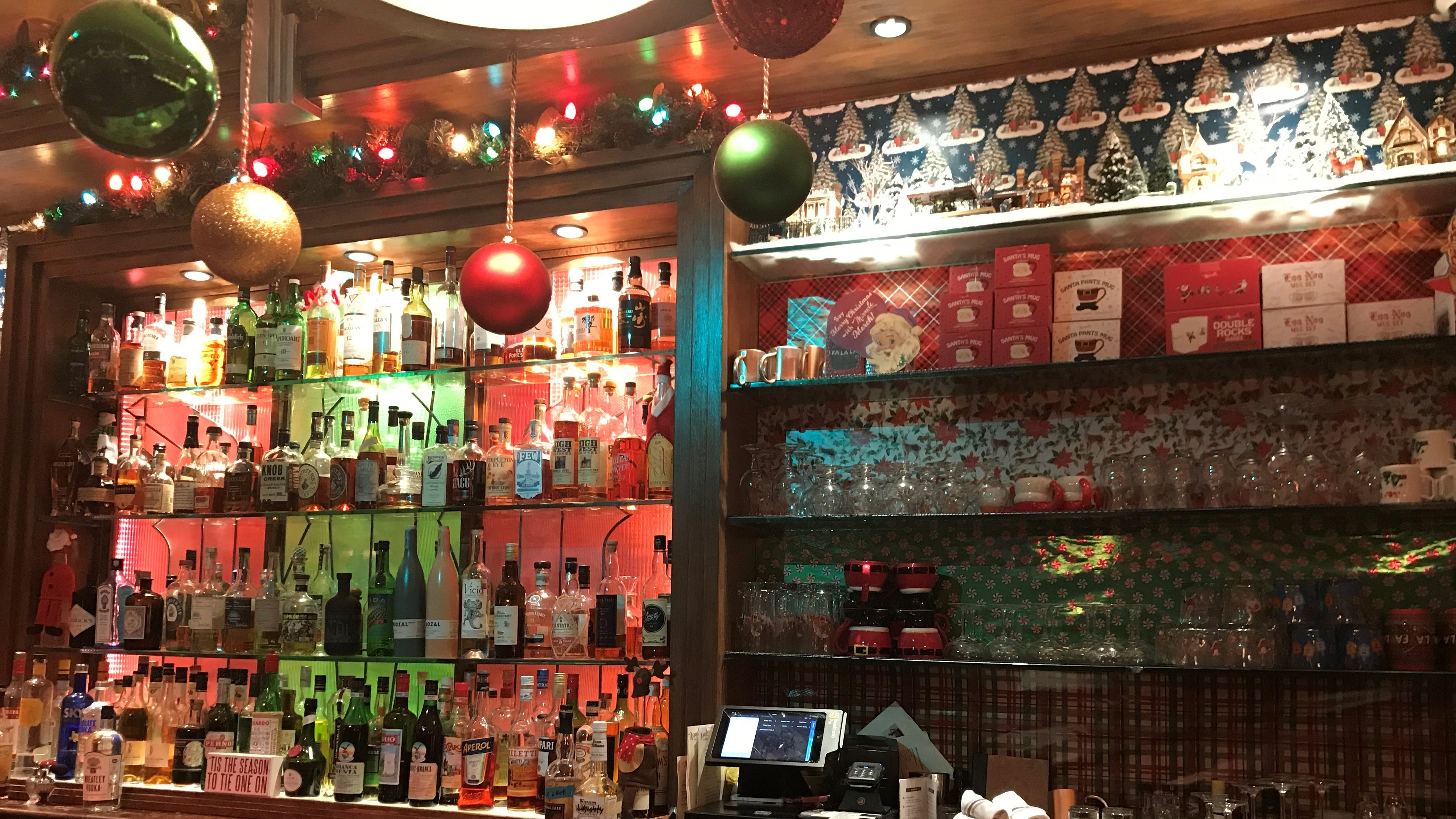 Cowan's Public in Nutley has transformed into a Christmas pop-up bar for the month of December.