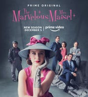 """The Marvelous Mrs. Maisel"" season two premieres on Amazon Prime Video Dec. 5."