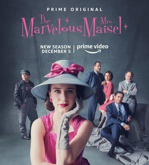 """The Marvelous Mrs. Maisel"" season two premieres on Amazon Prime Video Dec. 5."