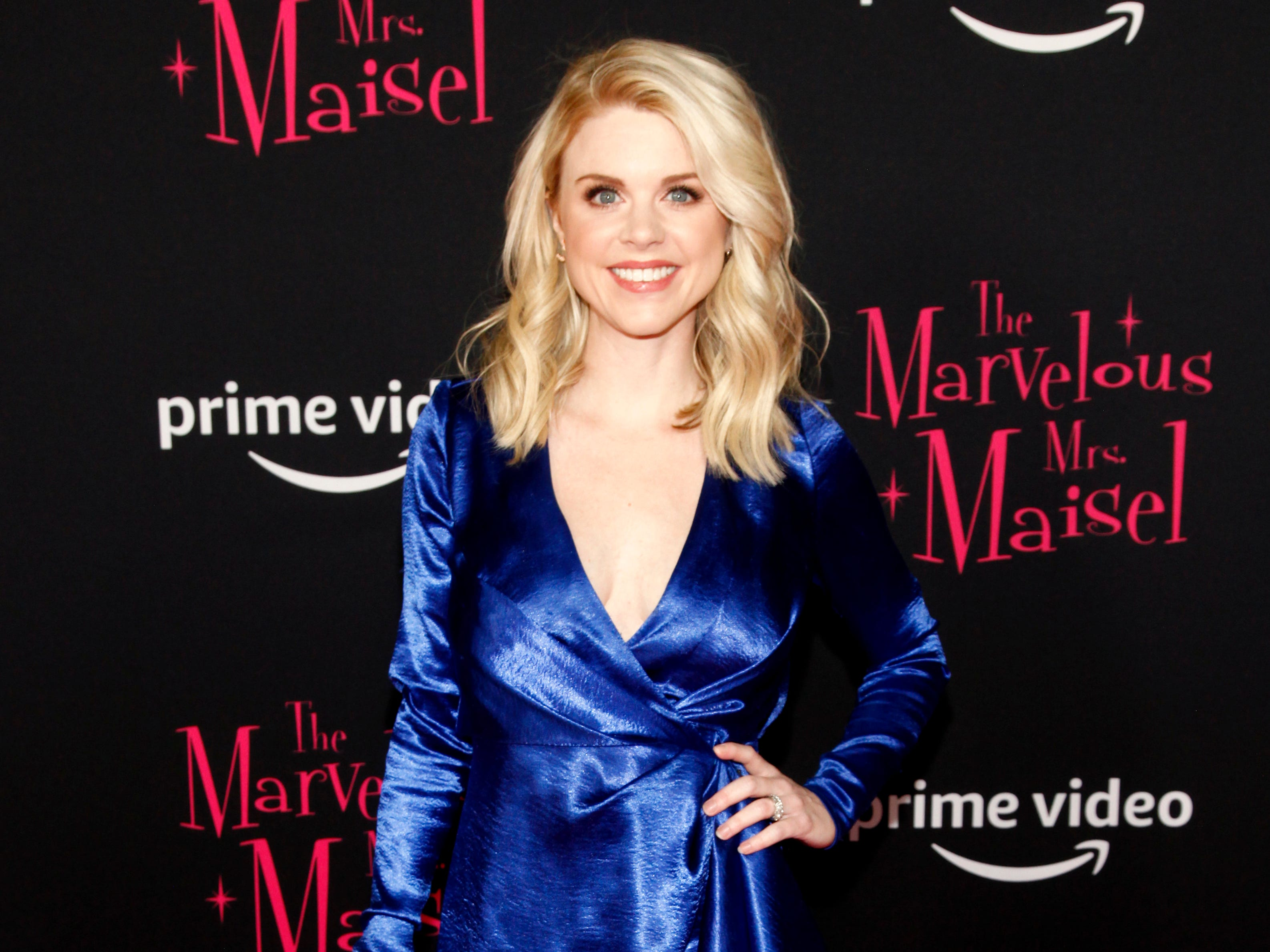 "Bailey De Young at the premiere of season two of ""The Marvelous Mrs. Maisel"" Nov. 29, 2018 at The Paris Theatre in New York City."