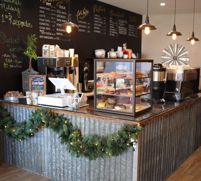 G.O.A.T. Coffee is a rustic, cozy new coffee shop in Lyndhurst.