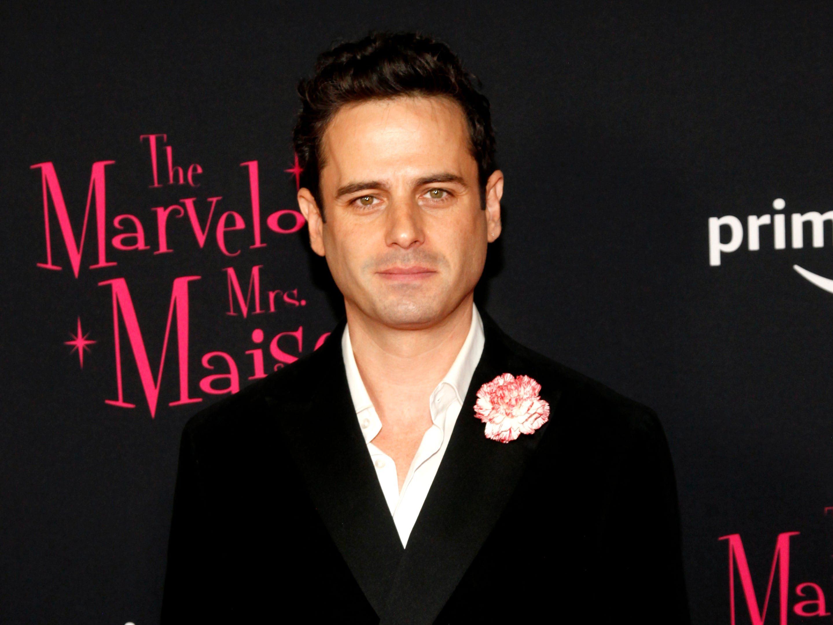 "Luke Kirby at the premiere of season two of ""The Marvelous Mrs. Maisel"" Nov. 29, 2018 at The Paris Theatre in New York City."