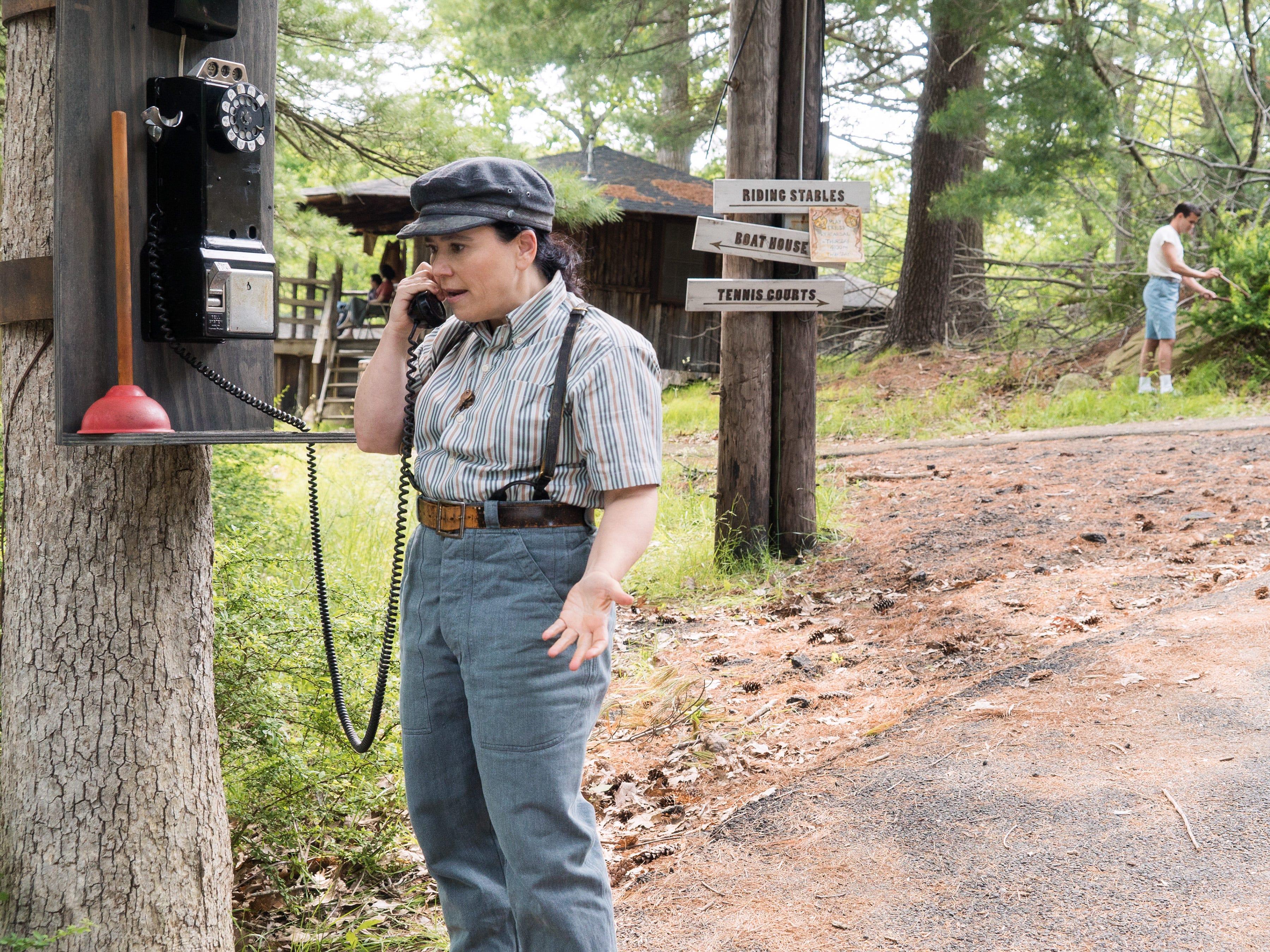 "Alex Borstein stars as Susie Myerson, Midge's manager, in season two of the Amazon Prime Video series ""The Marvelous Mrs. Maisel."""