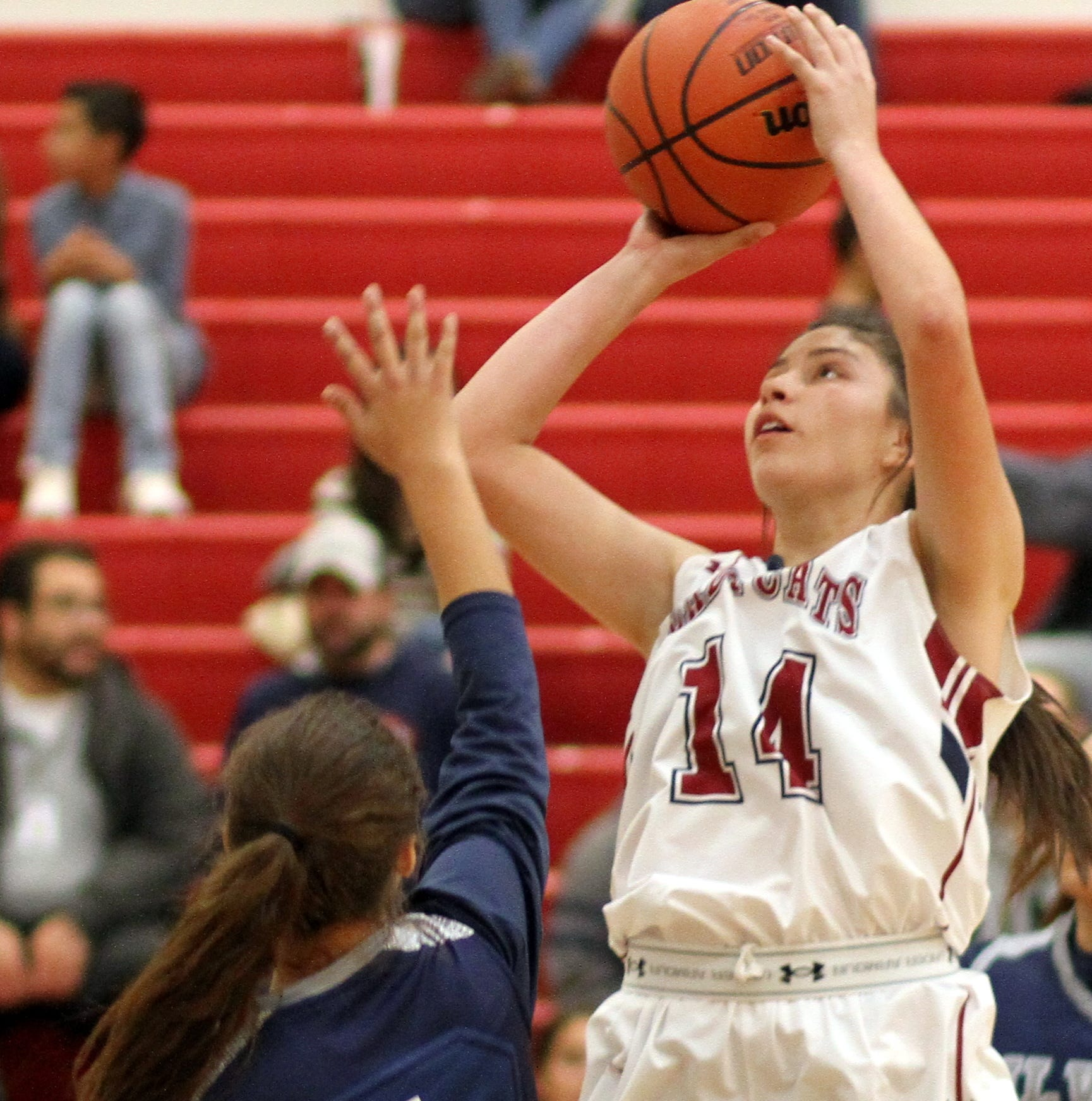 Deming High Lady 'Cats break Silver High Fighting Colts, 64-51 to improve to 5-0
