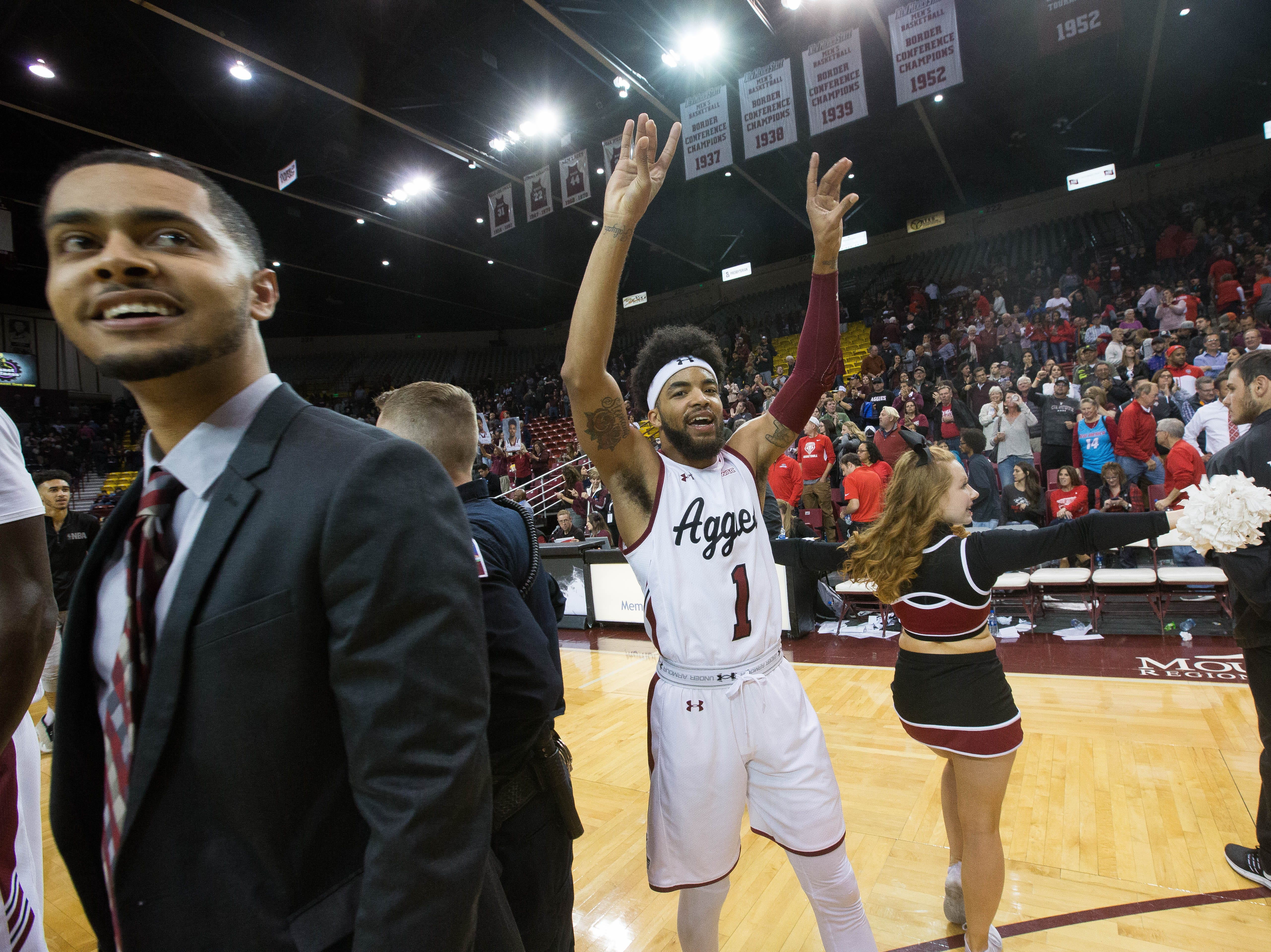 New Mexico State faces No. 2 Kansas in nationally televised matchup