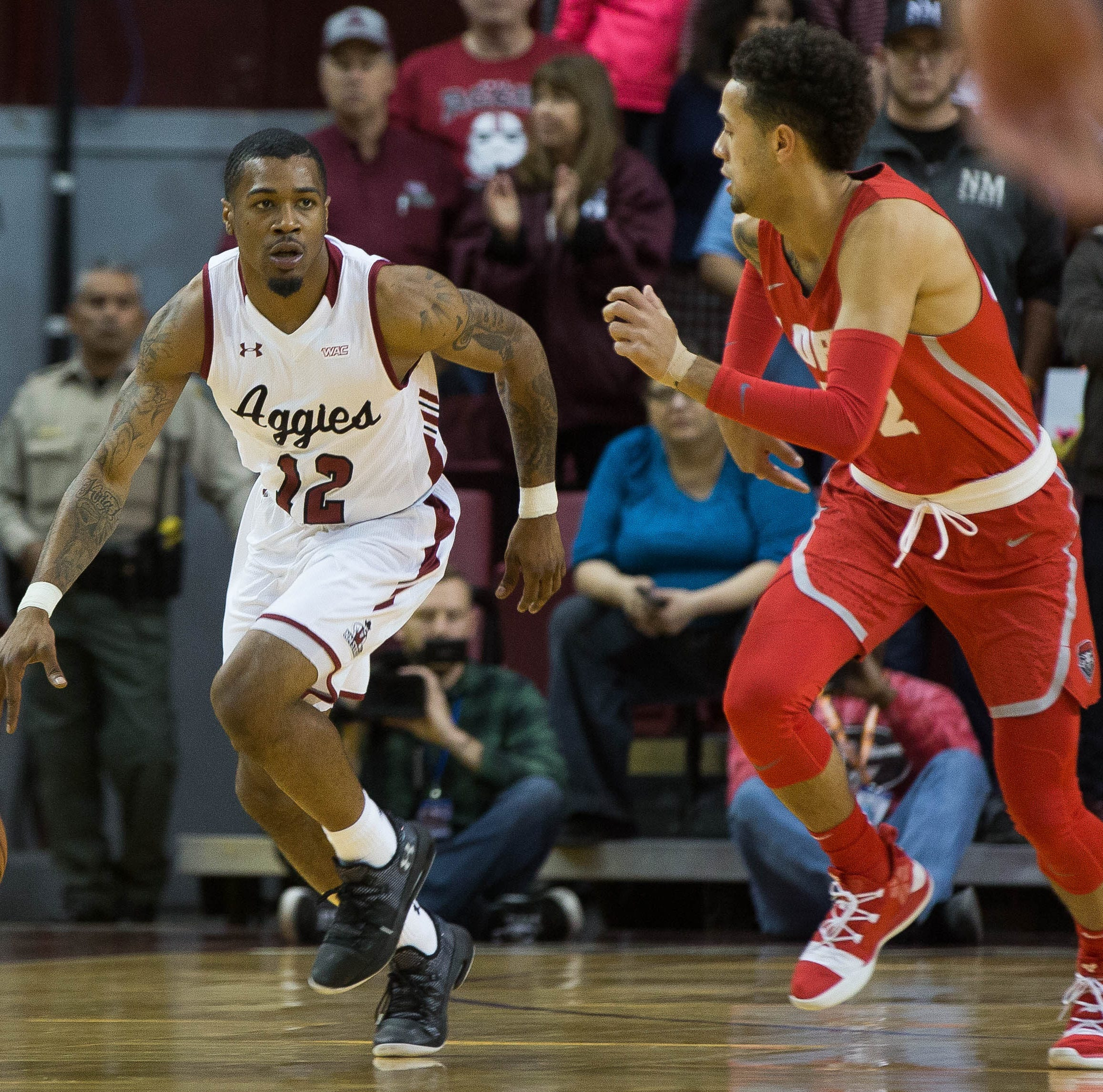New Mexico State blows out New Mexico for 5th straight win over Lobos