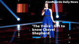 Get to know NBC 'The Voice' contestant Chevel Shepherd of Farmington.