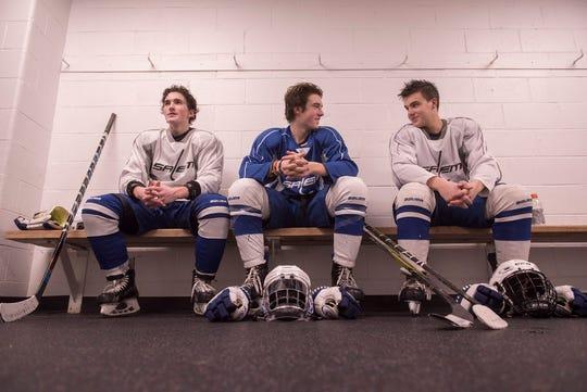 Josh German, Anthony Gattoni and Alex Schaumburger sit down to talk about Salem's new home rink.