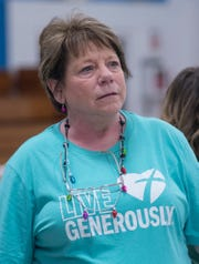 Karla Schaffer coordinates the veterans project.