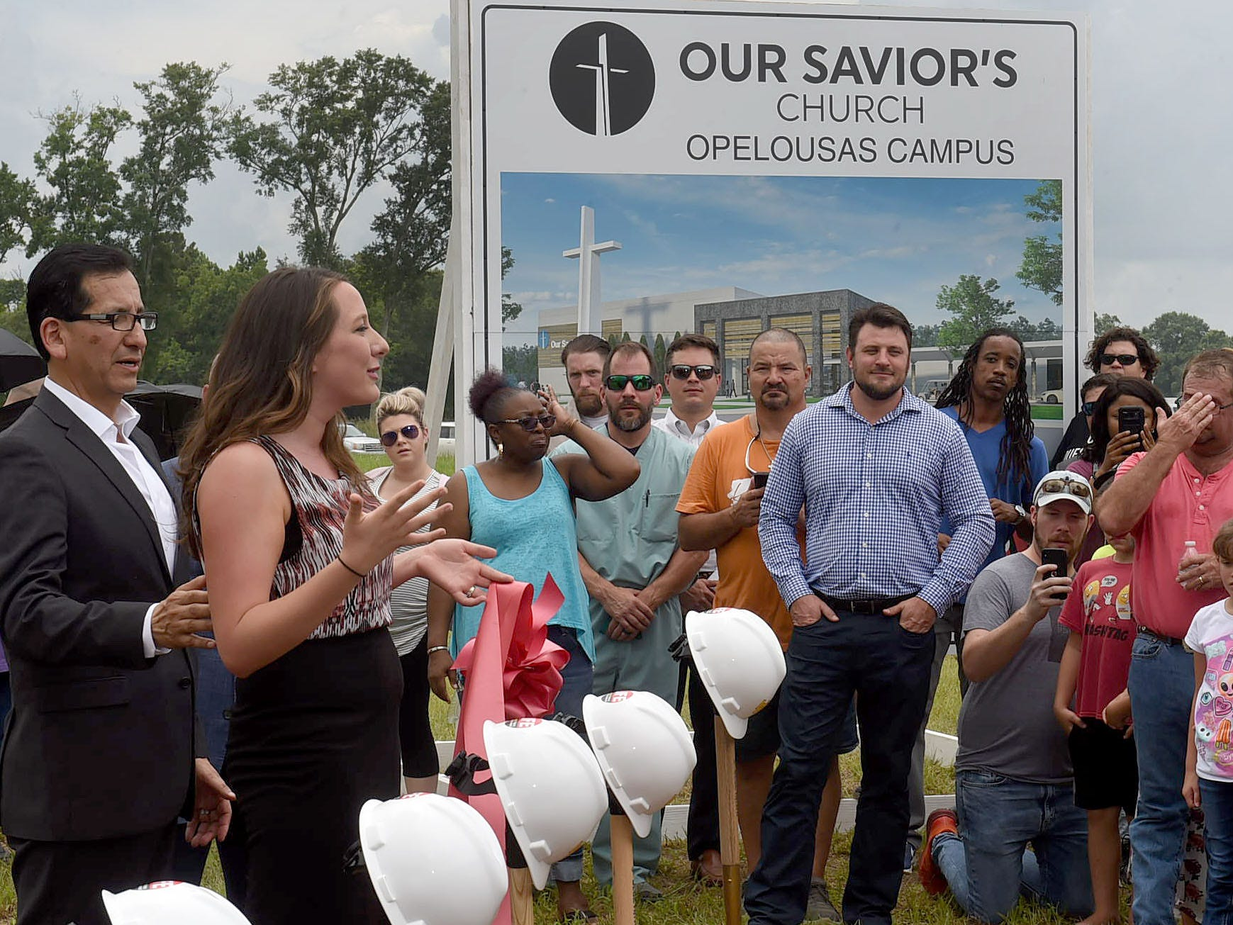 Our Savior's Church, Opelousas Campus made news with the groundbreaking for a new church located on Interstate 49 just south of Opelousas.