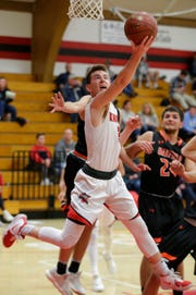 Lourdes Academy senior Henry Noone is the team's leading scorer, averaging 20.8 points per game.