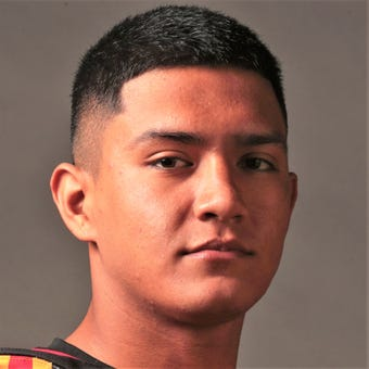 Garcia became the first Palm Desert player to ever eclipse 2,000 rushing yards, finishing with 2,319 and 29 rushing touchdowns -- both school records,