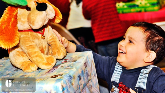 The Angel Tree program provides Christmas gifts to children whose parents are incarcerated.