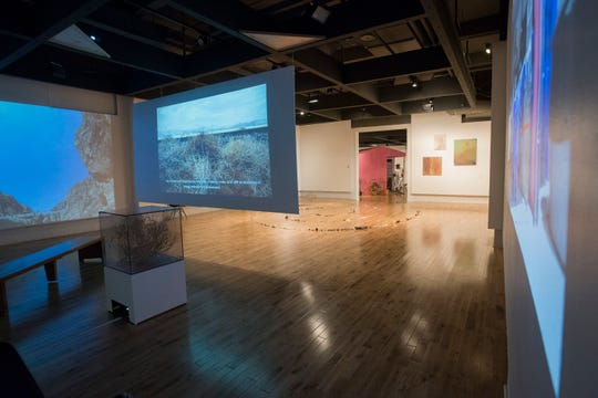 """The Pensacola Museum of Art's current exhibit, """"Stone's Throw: On Borders, Boundaries, and the Beyond,"""" is on display through next month."""