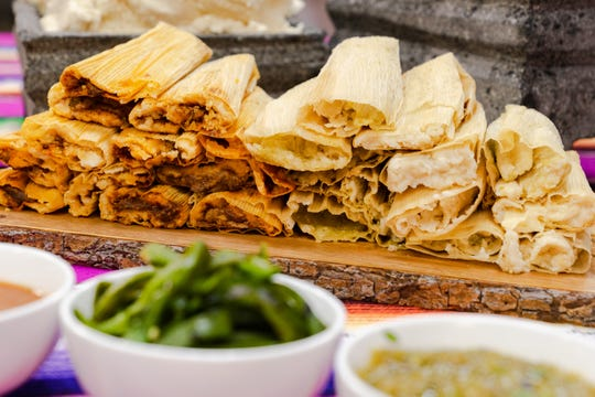 Tamales at Taco Chelo.