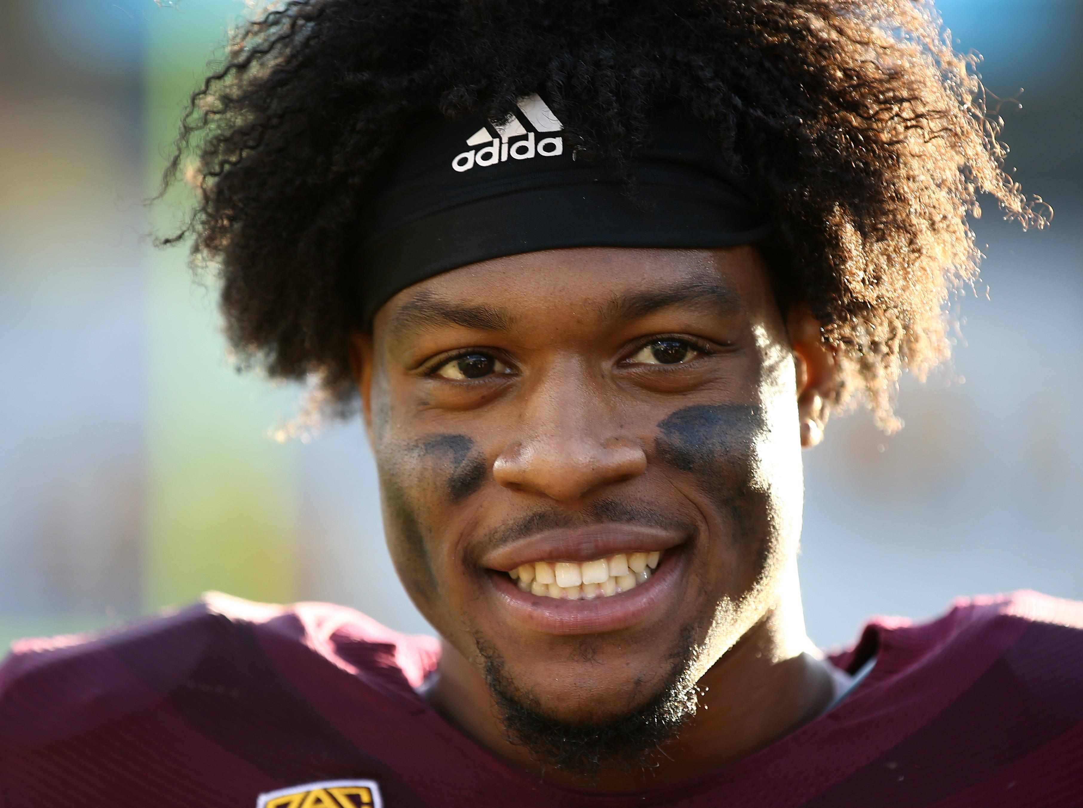 Arizona State receiver N'Keal Harry.