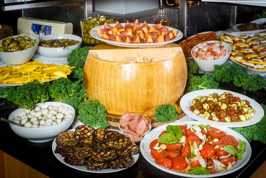 Galeto Brazilian Steakhouse's gourmet bar features more than 54 signature dishes and artisan appetizers.