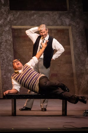 """Charles Shaughnessy (above) and Hector Coris in Scottsdale Musical Theater Company's Production of """"42nd Street."""""""