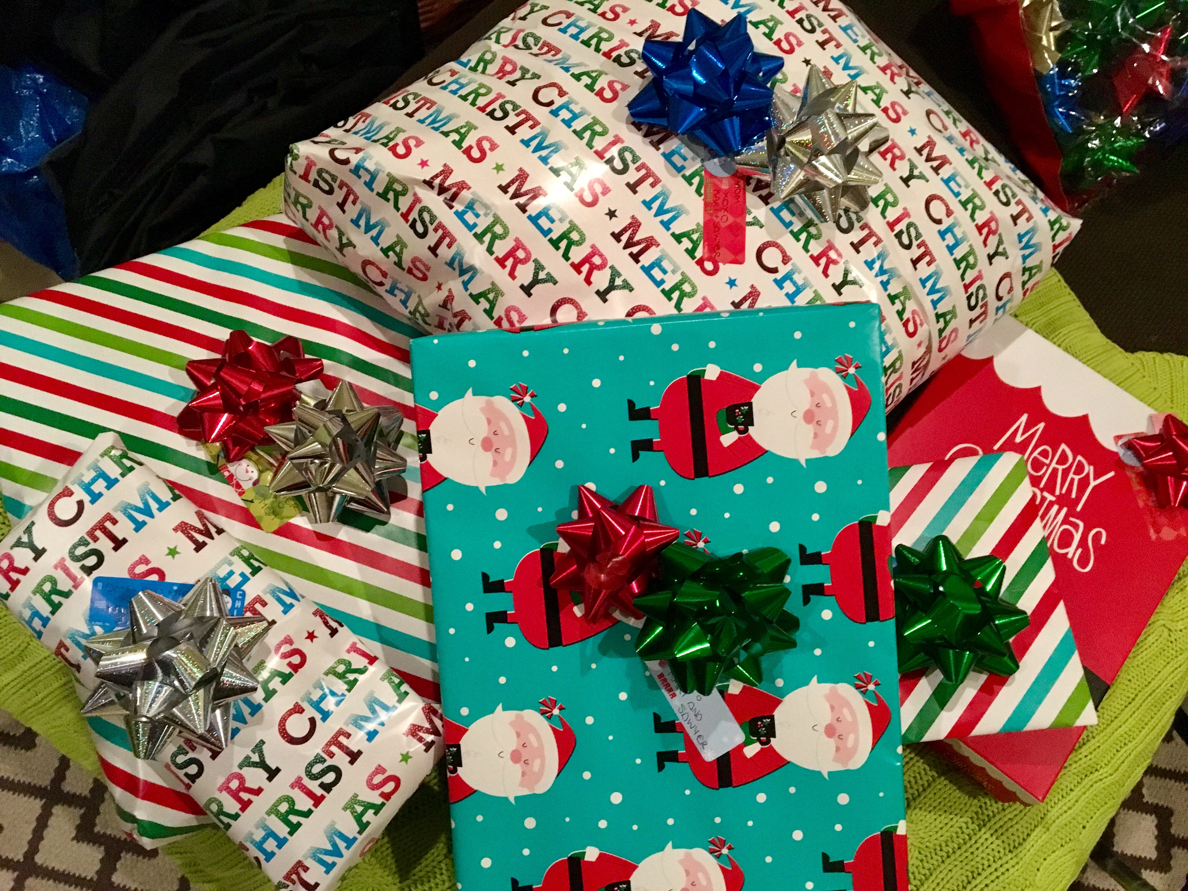 Wanna hide your kids' Christmas presents? Try the clothes hamper or (ewww) mom's underwear drawer