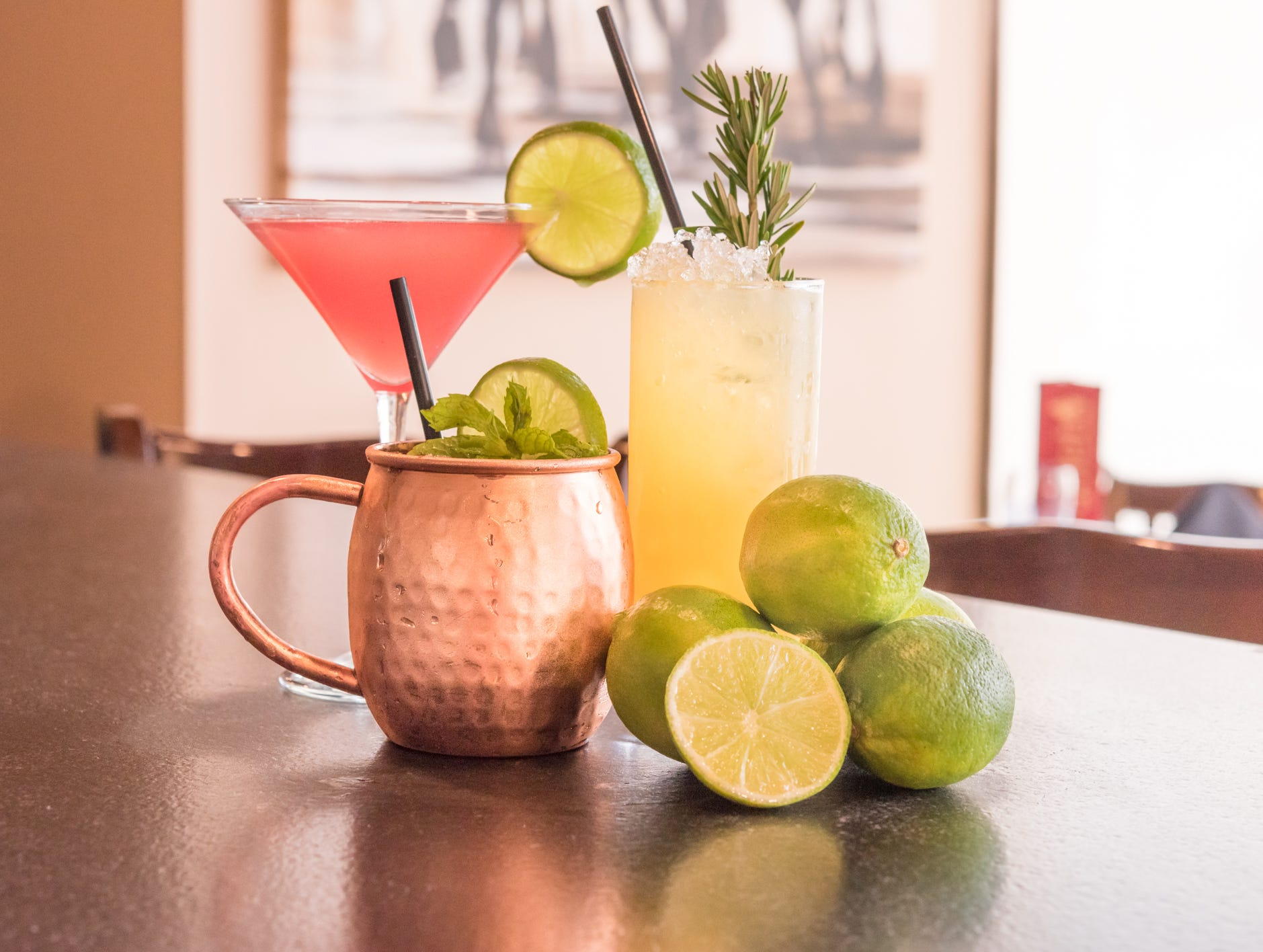 "Try Galeto Caipirinha — the national cocktail of Brazil — made with ""cachaca,"" sugar and lime, at Galeto Brazilian Steakhouse."