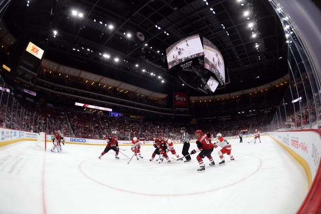 The Arizona Coyotes are once again the least valuable team in the NHL.