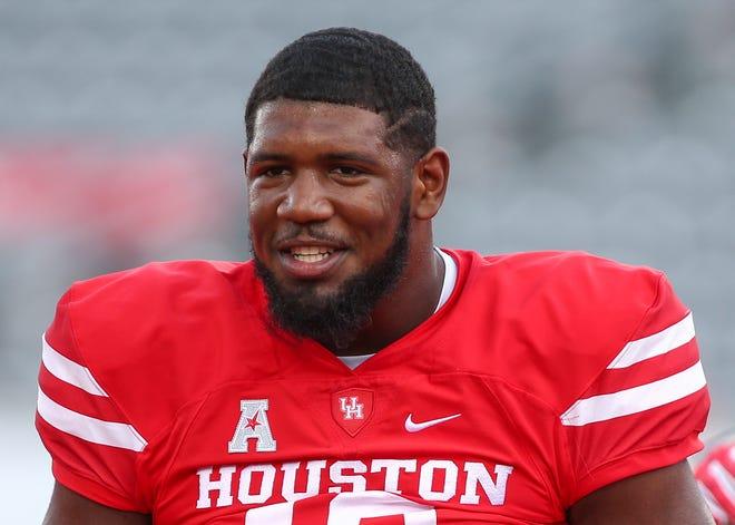 Houston defensive tackle Ed Oliver.