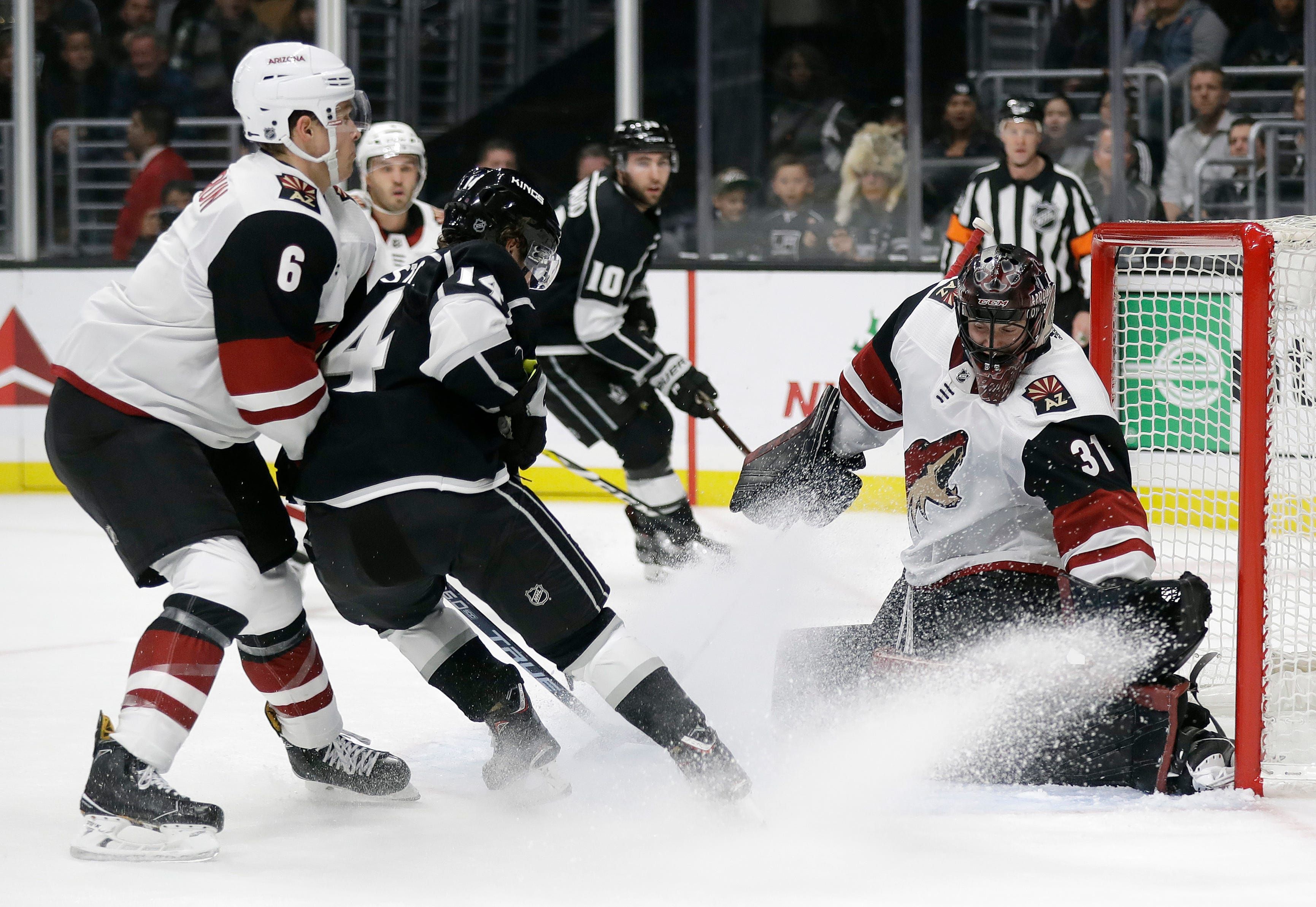 Game Day: Adin Hill gets another start as Coyotes look to win fifth straight game