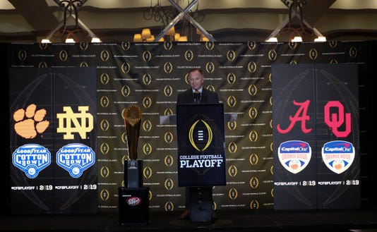 Ncaa Football College Football Playoff Selection Sunday