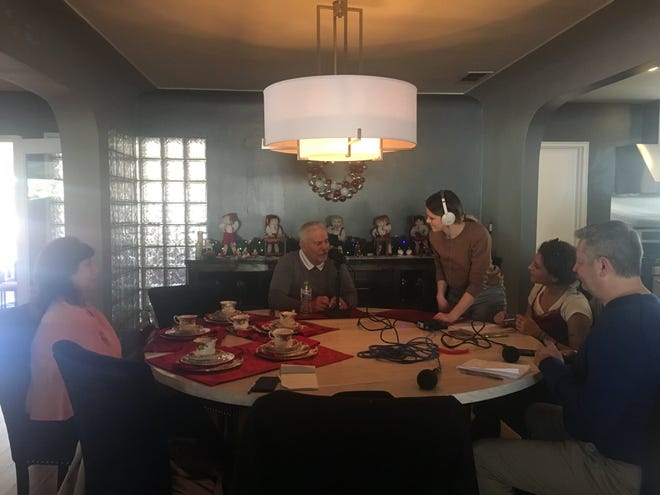 """Ronnie Lopez, former Rep. Ed Pastor's close friend, talks with """"The Gaggle"""" podcast team about the congressman's life and legacy, Nov. 30, 2018."""