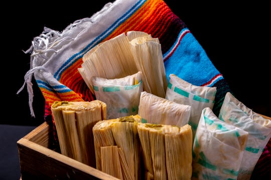 Tamales at Macayo's Mexican Table.