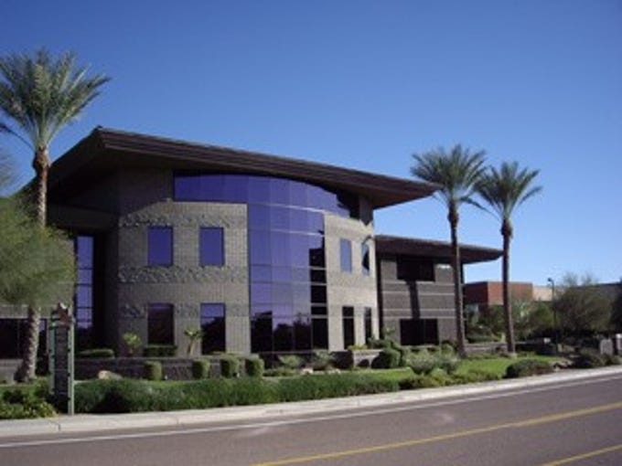 A Scottsdale office building that will be razed to make way for Lennar apartments