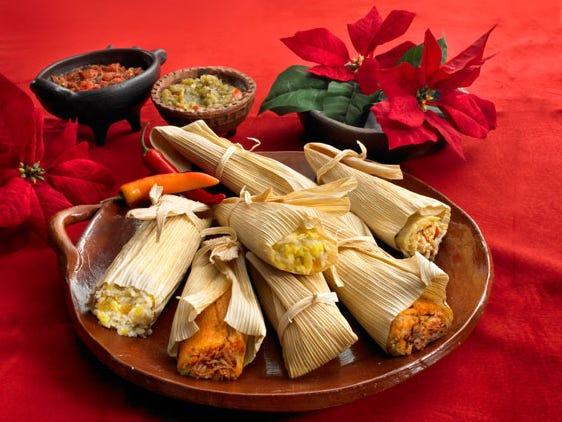 Tamales at Food City.