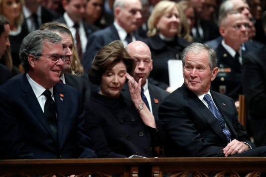 State Funeral Held For George H W Bush At The Washington National Cathedral