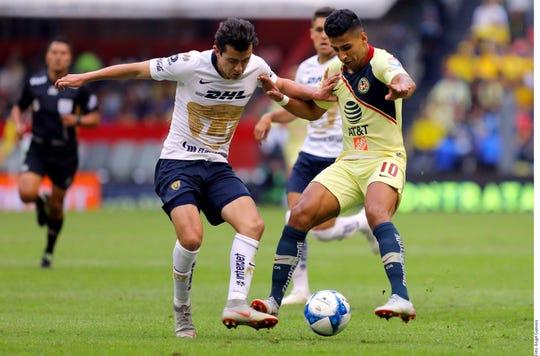 Pumas y América chocan en las semifinales de la Liga MX.