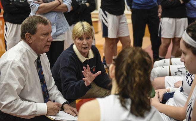 Lebanon Catholic head coach Patti Hower finishes her career with 756 victories