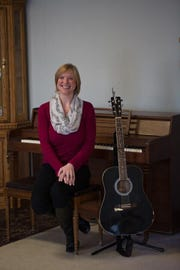 Holly Semrow, Marwood's board-certified music therapist, says music therapy is an invaluable element in care at Marwood.