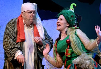 """""""A Seussified Christmas Carol"""" opens at DreamWrights Dec. 7 with shows through the 22nd."""