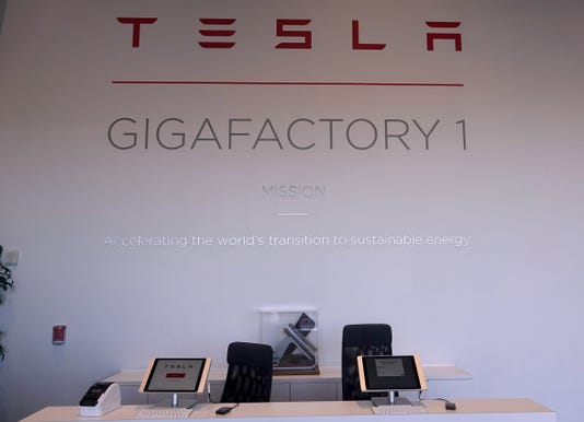 We got a tour in Tesla's Gigafactory  It's big, loud and