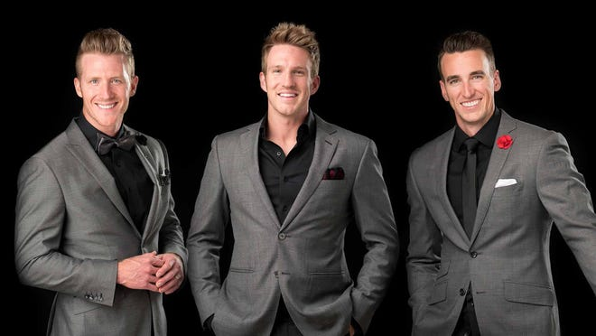 A nationally touring trio of tenors will be accompanied by members of Richmond Symphony Orchestra on Saturday, Dec. 8.