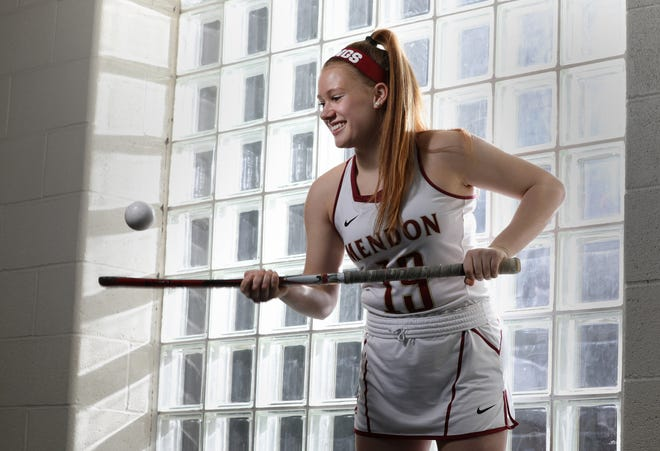 Leah Tolley, Pittsford Mendon, AGR FIELD HOCKEY PLAYER OF THE YEAR 2018.Fall AGR 2018.